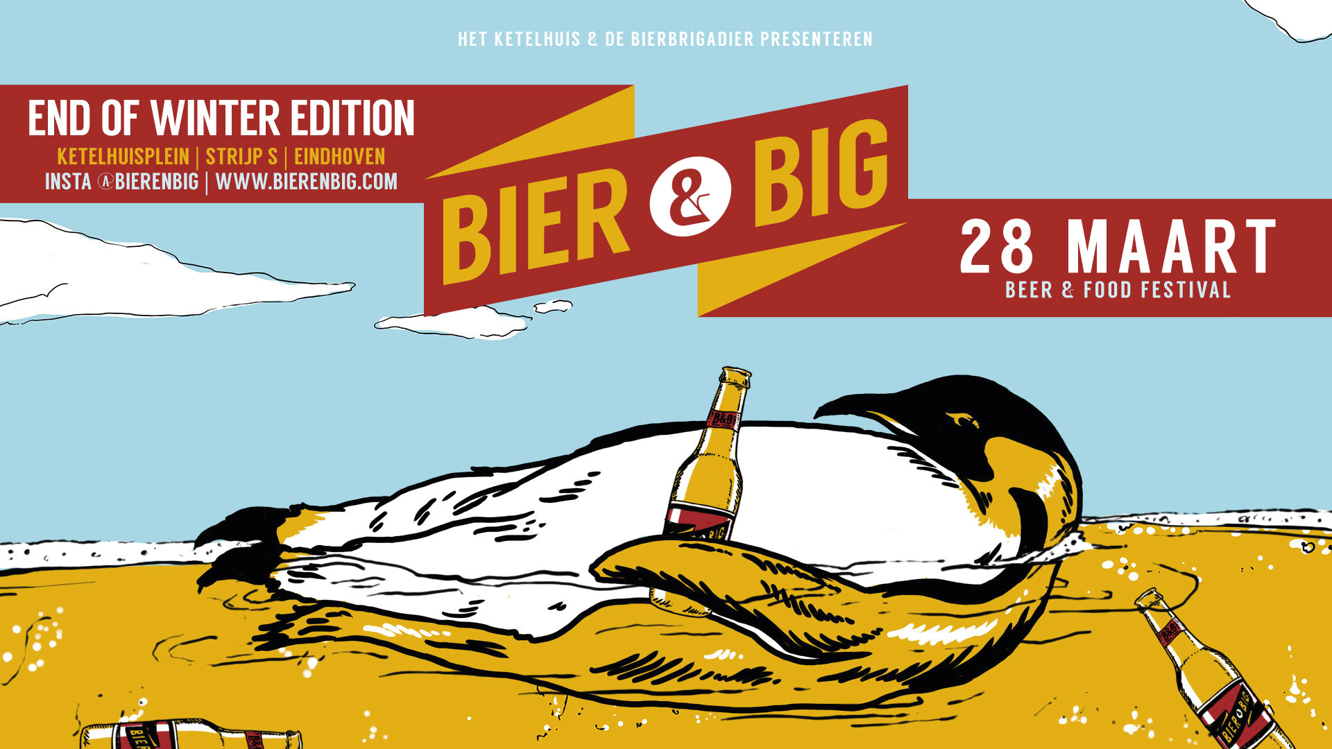 Afbeelding - BIER&BIG: END OF WINTER : 28 MAART 2020